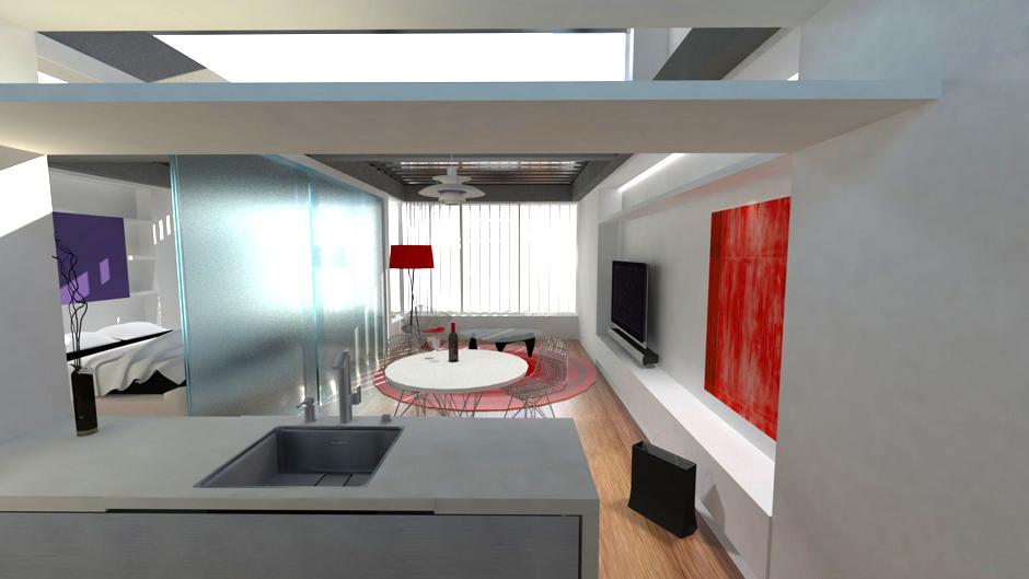 Lofts en ciudad universitaria madrid km0 arquitectos - Lofts en madrid ...